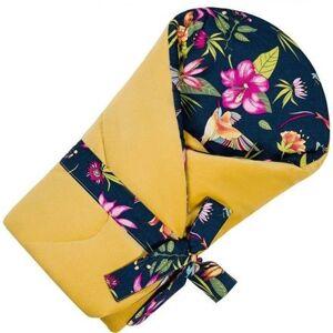 Velvet zavinovačka Infantilo yellow/tropical