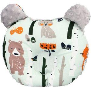 Ergonomický polštářek Infantilo medvídek grey/forest friends