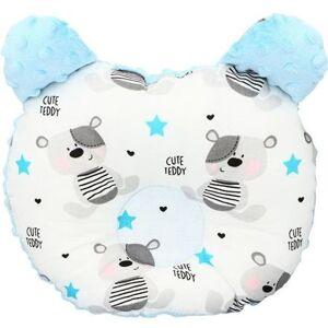 Ergonomický polštářek Infantilo medvídek blue/cute teddy