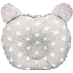 Ergonomický polštářek Infantilo medvídek grey/white stars