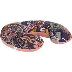 Velvet krmící polštář Infantilo pink/dark boho