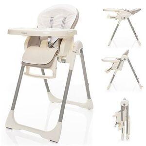 Zopa jídelní židlička Ivolia Beige grey