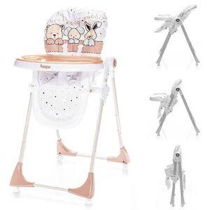 Zopa jídelní židlička Monti Animal beige