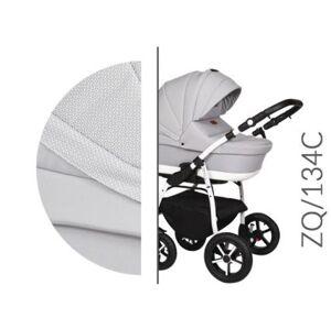 Kočárek Baby Merc Zipy Q 2019 dvojkombinace bílý rám ZQ/134C