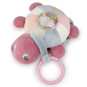 Canpol babies Plyšová svítící a hrající želva Sea turtle růžová