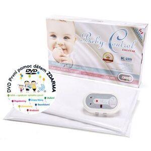 Monitor dechu Baby Control Digital 220i - pro dvojčata - dvě senzorové podložky