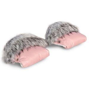 Rukavice na kočárek Colibro Powder pink